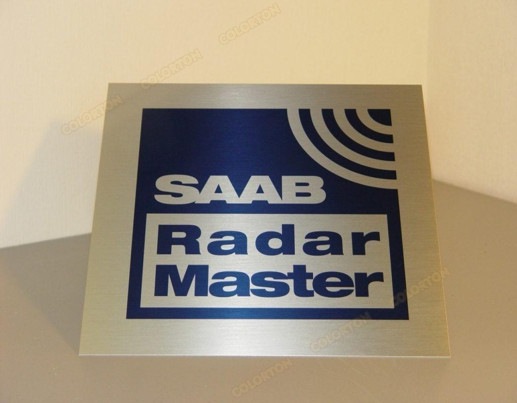 Изображение уличной таблички SAAB