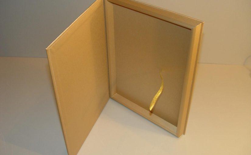Стандартная подарочная коробка для плакеток