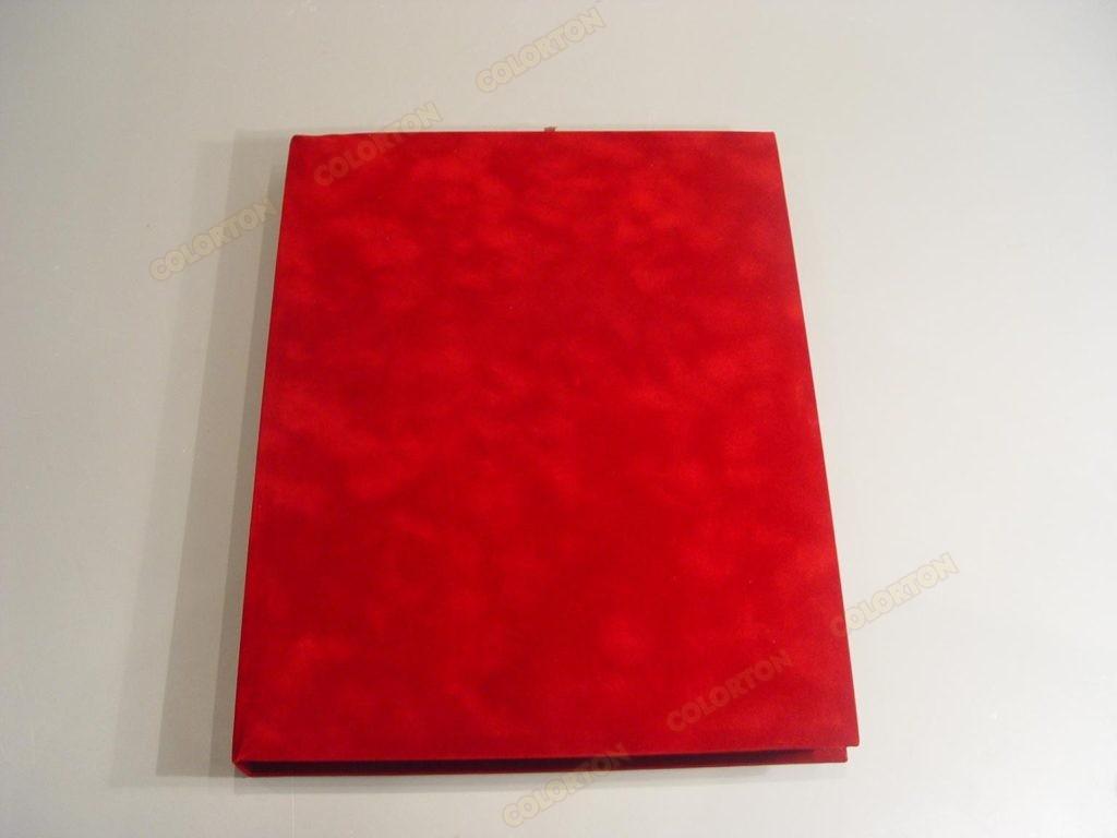 Изображение подарочной коробки 228х305мм красной закрытой