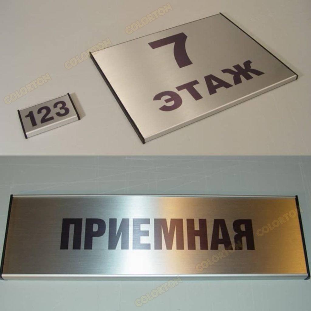 Изображение номерков на дверь