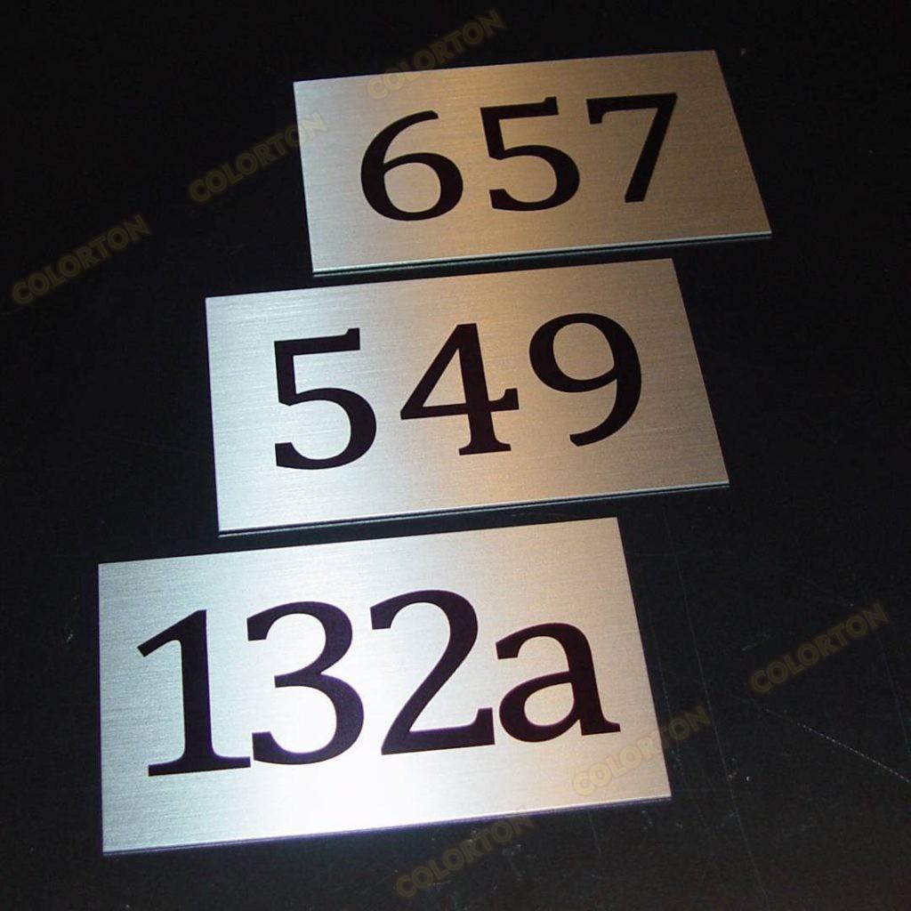 Изображение табличек номеров кабинетов